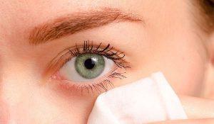 وصفة الجلسرين لترطيب منطقة تحت العين