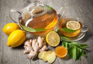 الشاي الأخضر والزنجبيل والقرفة لتخسيس 5 كيلو في أسبوع