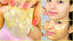 ماسك الجيلاتين والقهوة للتخلص من الشعر الزائد بالبشرة وتوحيد لونها