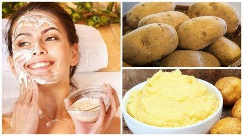 ماسك البطاطس للتخلص من تجاعيد البشرة الدهنية