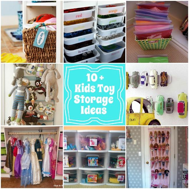 أفكار مميزة لترتيب ألعاب طفلك.. ميزي غرفته