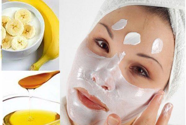 ماسك الموز لترطيب البشرة الدهنية وتهدئة التهابها