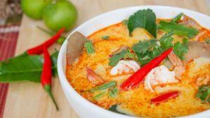 طريقة عمل شوربة توم يام التايلاندية