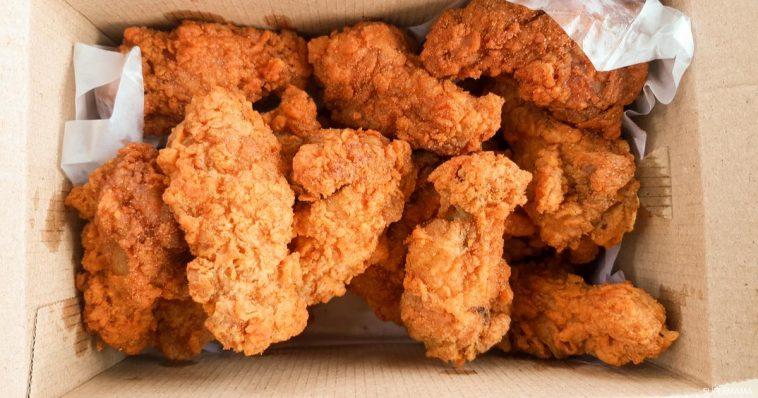 طريقة عمل دجاج كنتاكى مقرمش في المنزل