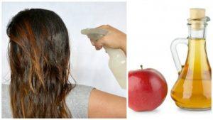 فوائد خل التفاح للشعر.. لن تتوقعيها!