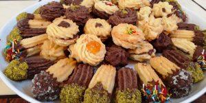 طريقة عمل البيتي فور بالشوكولاتة في العيد