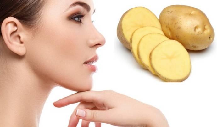 ماسك البطاطس لتفتيح البشرة وعلاج حروق الشمس