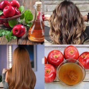 ماسك خل التفاح وبياض البيض لعلاج تلف الشعر